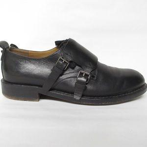VALENTINO GARAVANI size 42 ROCKSTUD monkstrap shoe